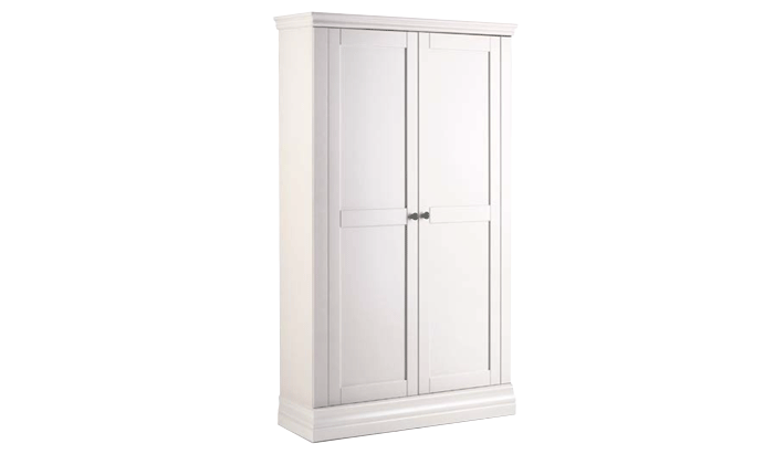 2 Door Narrow Wardrobe