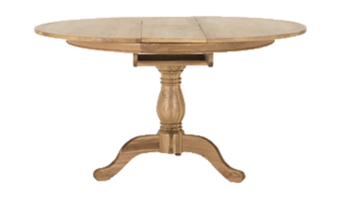 Fixed Oval Dining Table