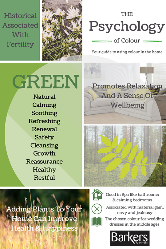 Colour psychology Series: The colour Green