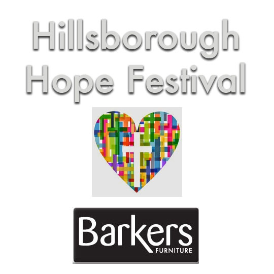 Hillsborough Hope Festival- Hillsborough Tabernacle Congregational Church and Barkers Furniture work
