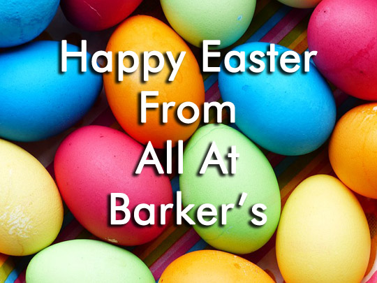 Happy Easter from Barker's Furniture