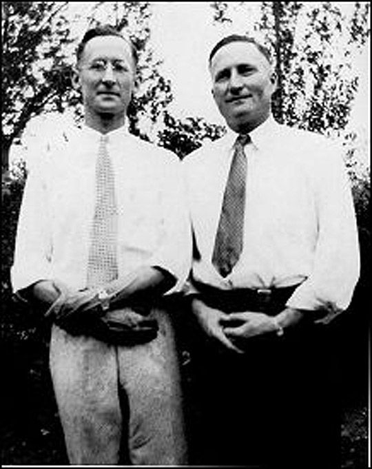 Edward M. Knasbusch and Edwin J. Shoemaker