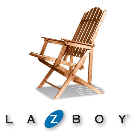 La-Z-Boy First Porch Chair and Logo