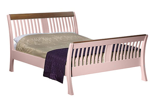 Charltons Lilli Coloured bed Lydia Pastel pink