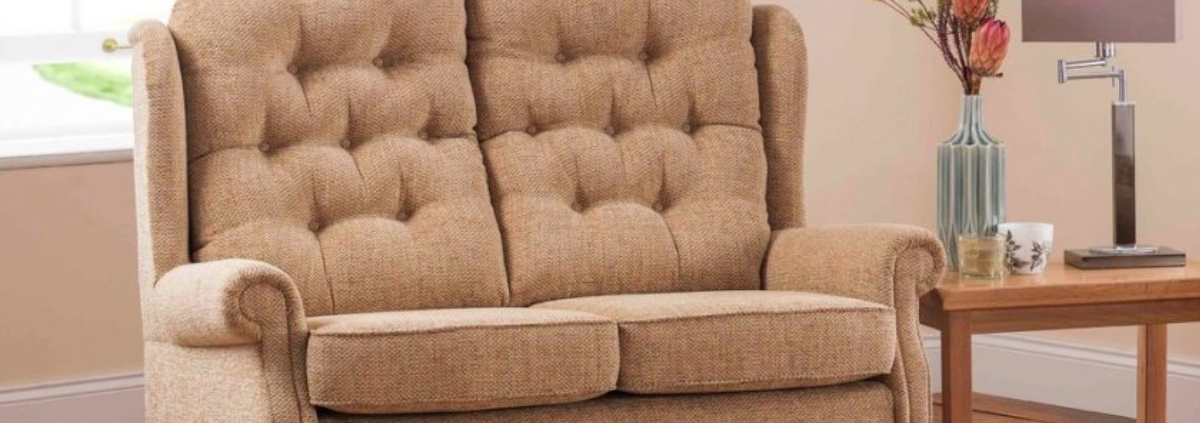 Fabric 2 Seater Sofas