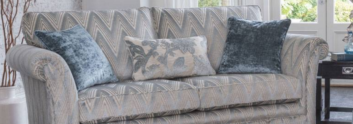 Fabric 3 Seater Sofas