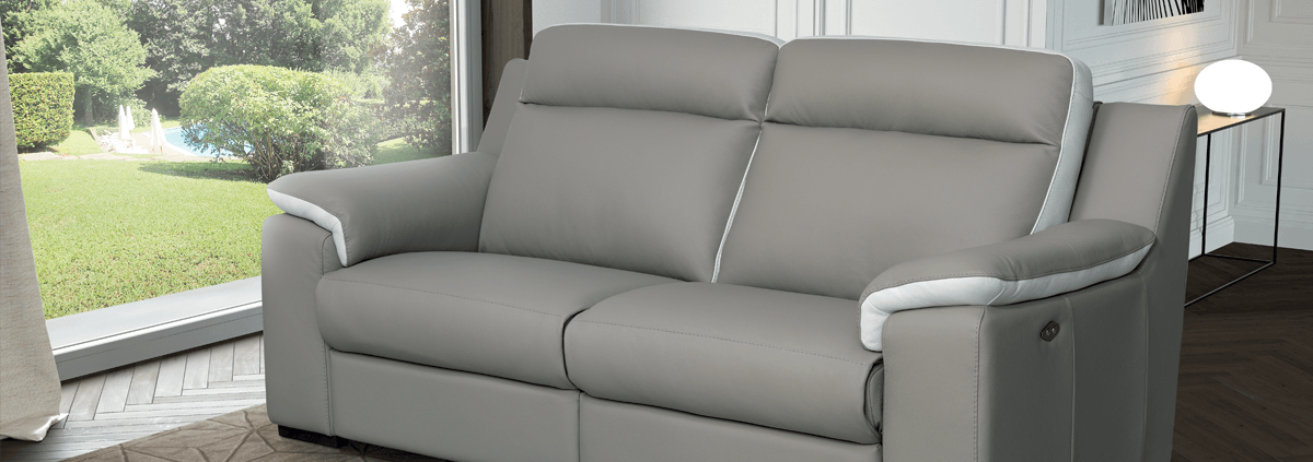 Leather 2 Seater Sofas