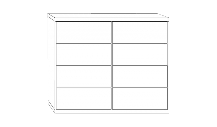 8 Drawer Chests