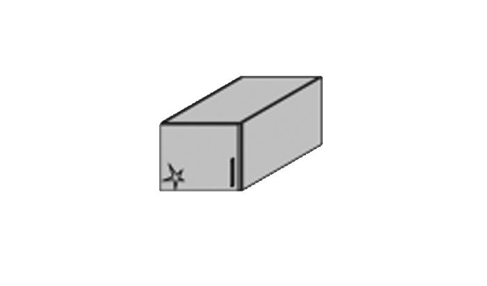 1 Door Top Box