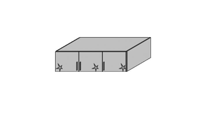 3 Door Top Box
