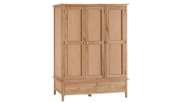 Large 3 Door Wardrobe