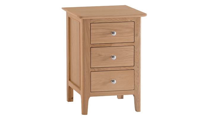 Large 3 Drawer Bedside