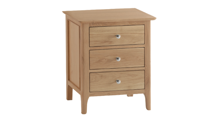 X-Large 3 Drawer Bedside