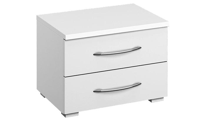 2 Drawer Wide Bedside