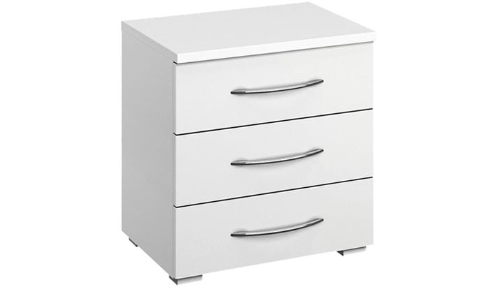 3 Drawer Wide Bedside